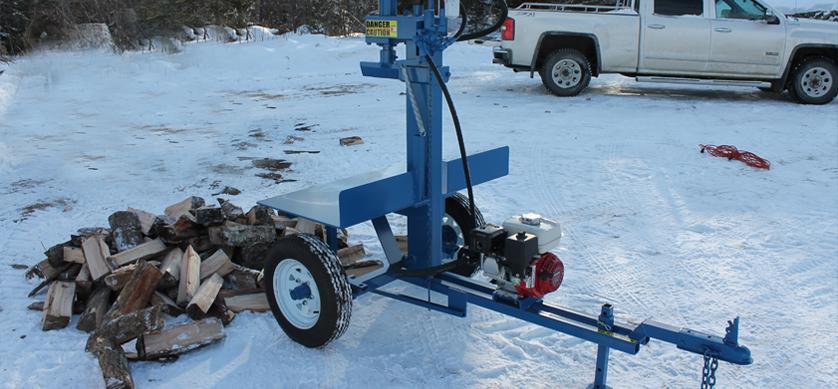 2 2 Buggy Splitter (Static Tow Behind), Wood Splitter, Firewood Splitter