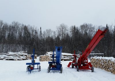 3 splitters 13 400x284 Overview Gallery, Firewood Splitter, Log Lift