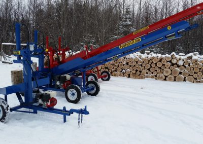 3 splitters 14 400x284 Overview Gallery, Firewood Splitter, Log Lift