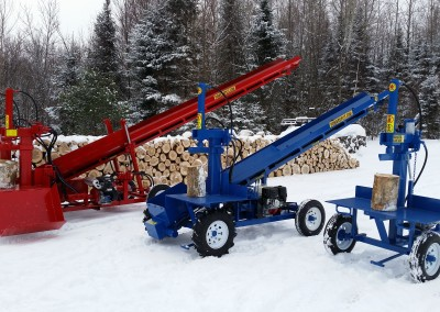3 splitters 19 400x284 Overview Gallery, Firewood Splitter, Log Lift