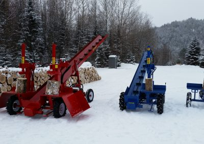 3 splitters 21 1 400x284 Overview Gallery, Firewood Splitter, Log Lift