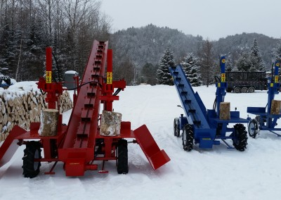 3 splitters 22 400x284 Overview Gallery, Firewood Splitter, Log Lift
