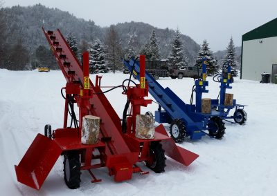 3 splitters 25 400x284 Overview Gallery, Firewood Splitter, Log Lift