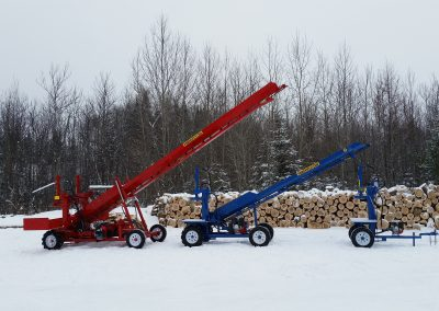 3 splitters 27 400x284 Overview Gallery, Firewood Splitter, Log Lift