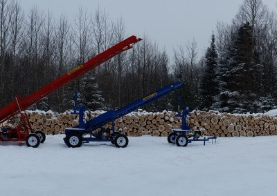 3 splitters 28 400x284 Overview Gallery, Firewood Splitter, Log Lift