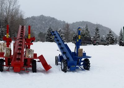 Double and single 1 400x284 Overview Gallery, Firewood Splitter, Log Lift