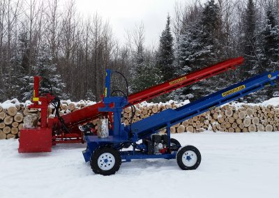 double and single 12 1 400x284 Overview Gallery, Firewood Splitter, Log Lift