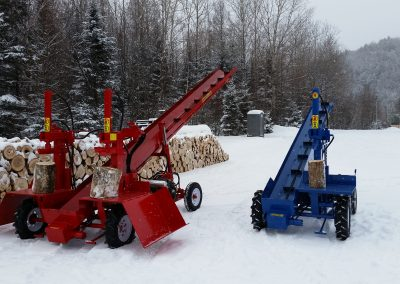double and single 13 1 400x284 Overview Gallery, Firewood Splitter, Log Lift
