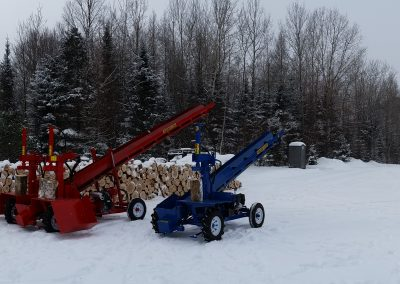 double and single 17 400x284 Overview Gallery, Firewood Splitter, Log Lift