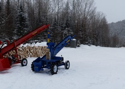 double and single 18 400x284 Overview Gallery, Firewood Splitter, Log Lift