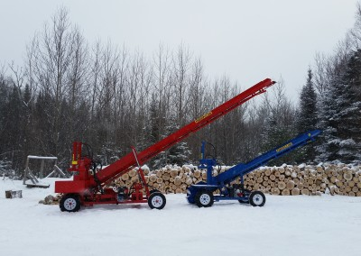 double and single 23 400x284 Overview Gallery, Firewood Splitter, Log Lift