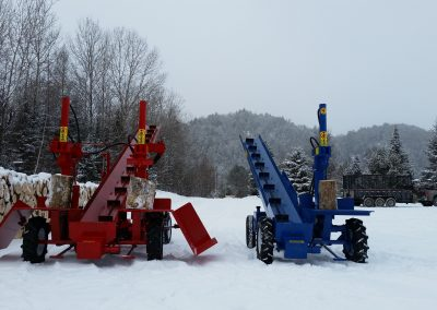 double and single 3 400x284 Overview Gallery, Firewood Splitter, Log Lift