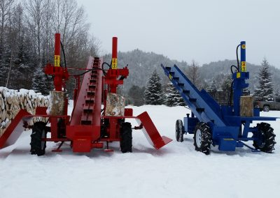 double and single 5 400x284 Overview Gallery, Firewood Splitter, Log Lift