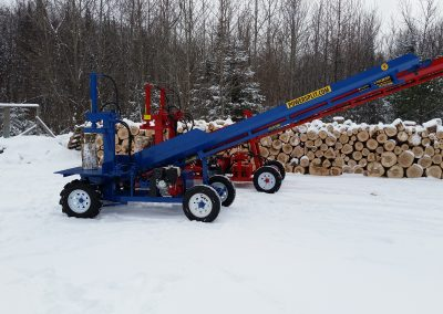 double and single 9 400x284 Overview Gallery, Firewood Splitter, Log Lift