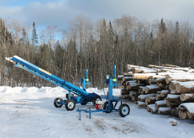 single and static 14 400x284 Overview Gallery, Firewood Splitter, Log Lift
