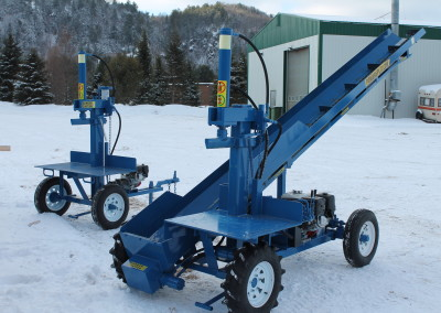 single and static 19 1 400x284 Overview Gallery, Firewood Splitter, Log Lift