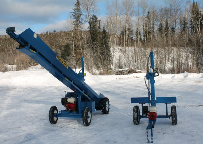 single and static 7 400x284 Overview Gallery, Firewood Splitter, Log Lift