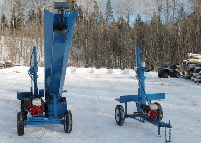 single and static 8 400x284 Overview Gallery, Firewood Splitter, Log Lift