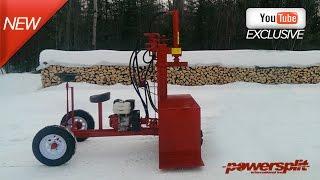 Powersplit Self Propelled Wood Splitter Buggy Wood Splitter Videos, Wood Splitter Reviews, Firewood