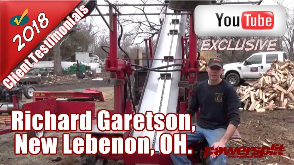 Richard Garetson 1024x576 Wood Splitter Videos, Wood Splitter Reviews, Firewood