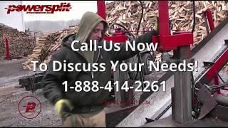 Woospliter Solit Test 2 Wood Splitter Videos, Wood Splitter Reviews, Firewood