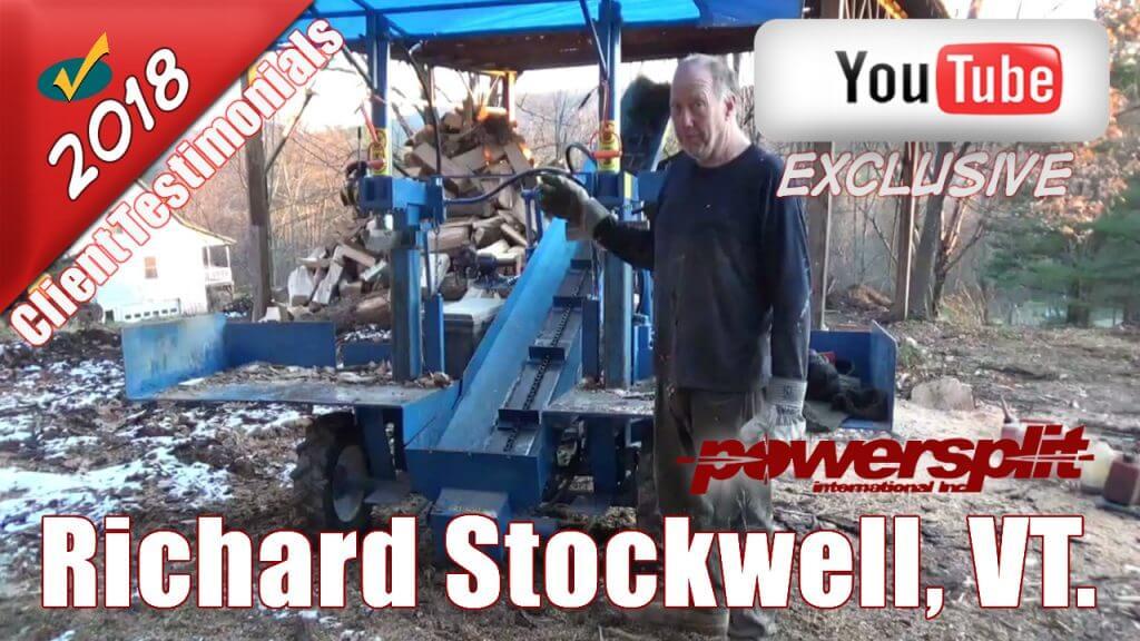 Richard Stockwell VT 1024x576 Wood Splitter Videos, Wood Splitter Reviews, Firewood