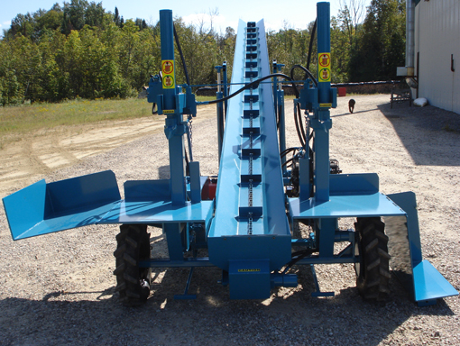 Double Vertical Splitter Thumbnail Double Vertical Splitter, Conveyor, Firewood
