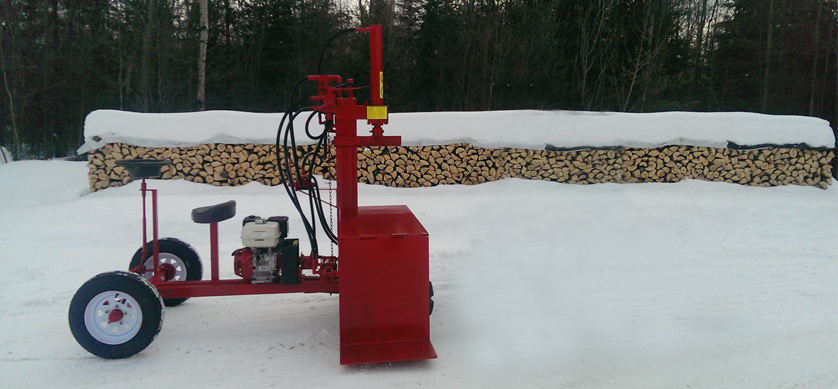1 3 Buggy Splitter (Self propelled), Self propelled Splitter, Hydraulic Wood Splitter,
