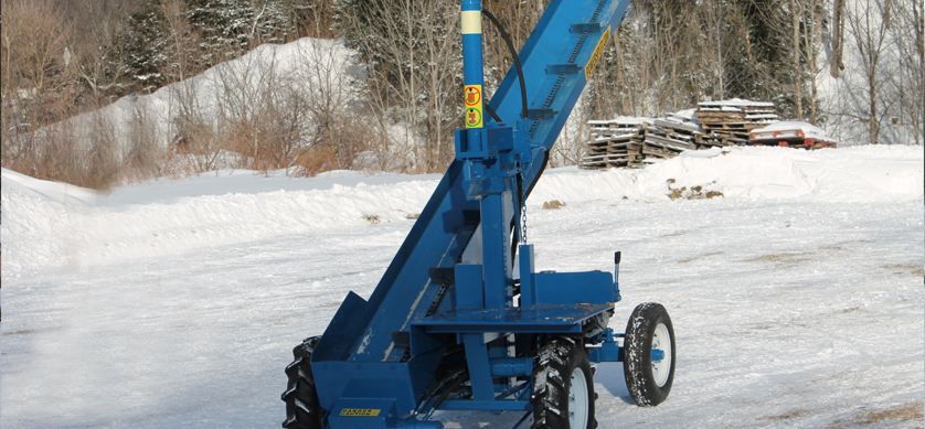 2 3 Single Vertical Splitter , Firewood Processor, Log lift processor