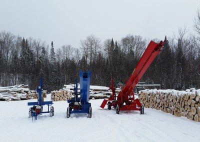3 splitters 11 400x284 Overview Gallery, Firewood Splitter, Log Lift