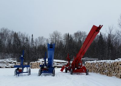 3 splitters 12 400x284 Overview Gallery, Firewood Splitter, Log Lift