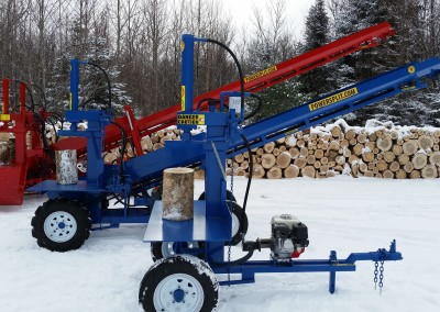 3 splitters 15 1 400x284 Overview Gallery, Firewood Splitter, Log Lift