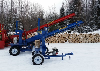3 splitters 17 400x284 Overview Gallery, Firewood Splitter, Log Lift