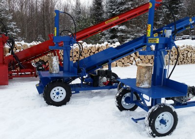3 splitters 18 400x284 Overview Gallery, Firewood Splitter, Log Lift