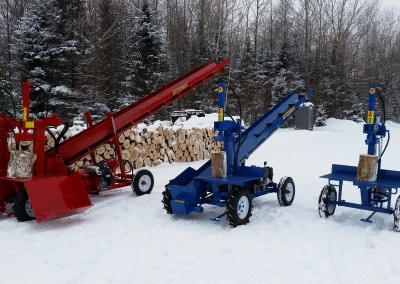 3 splitters 20 400x284 Overview Gallery, Firewood Splitter, Log Lift