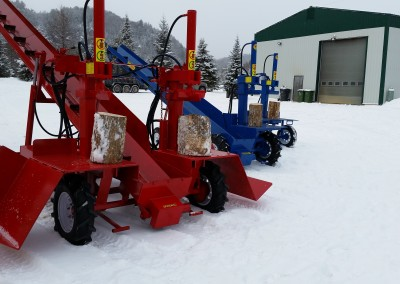 3 splitters 23 400x284 Overview Gallery, Firewood Splitter, Log Lift