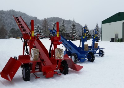 3 splitters 24 400x284 Overview Gallery, Firewood Splitter, Log Lift
