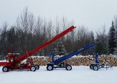 3 splitters 26 400x284 Overview Gallery, Firewood Splitter, Log Lift