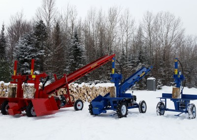 3 splitters 4 400x284 Overview Gallery, Firewood Splitter, Log Lift
