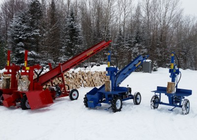 3 splitters 5 1 400x284 Overview Gallery, Firewood Splitter, Log Lift