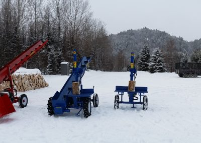 3 splitters 7 400x284 Overview Gallery, Firewood Splitter, Log Lift