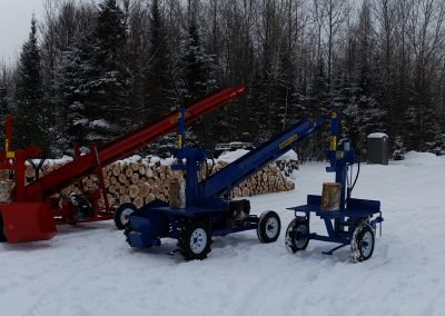 3 splitters 8 400x284 Overview Gallery, Firewood Splitter, Log Lift
