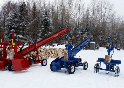 3 splitters 9 400x284 Overview Gallery, Firewood Splitter, Log Lift
