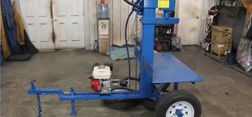 4 2 Buggy Splitter (Static Tow Behind), Wood Splitter, Firewood Splitter