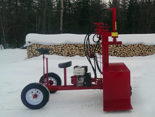 Buggy Self Propelled 1 1 Buggy Splitter (Self propelled), Self propelled Splitter, Hydraulic Wood Splitter,