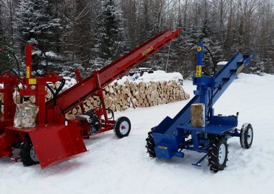 double and single 14 400x284 Overview Gallery, Firewood Splitter, Log Lift