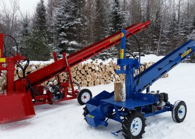 double and single 15 400x284 Overview Gallery, Firewood Splitter, Log Lift
