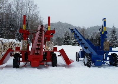 double and single 4 400x284 Overview Gallery, Firewood Splitter, Log Lift
