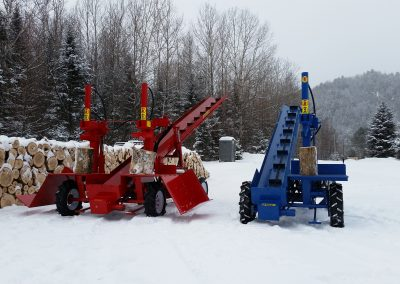 double and single 6 400x284 Overview Gallery, Firewood Splitter, Log Lift