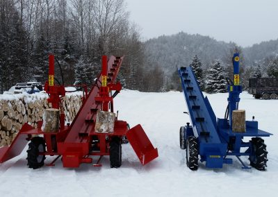 double and single 7 1 400x284 Overview Gallery, Firewood Splitter, Log Lift